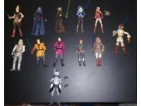 Bundle of various Star wars figures