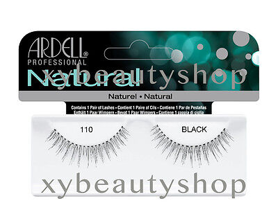40 Pairs Ardell Natural 110 Fashion Lash Fake Eyelashes Black