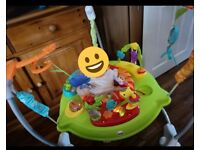 Fisher Price Rainforest Jumperoo - Baby Jumper/Bouncer w/ sounds & toys 4+mths - RRP £80