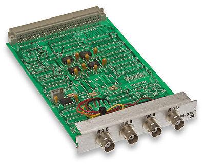 Truetime Symmetricom 86-379-28 Xl-dc Quad Output Irig-b Timecode Expansion Card