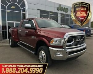 2017 Ram 3500 Limited| Low KM| Leather| 4X4