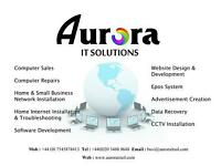 IT Services (Computer Repairs, CCTV Installations, Network Solutions, EPOS Systems and Many More..)