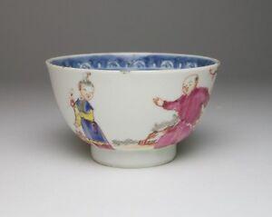 Antique Chinese Famille Rose porcelain tea bowl
