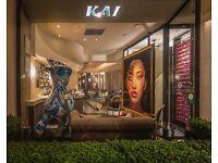 Sommelier/Bar - Michelin Star Restaurant Kai Mayfair