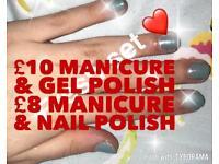 Nail services!