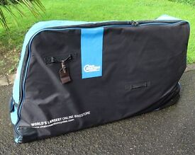 Chain Reaction Cycles Pro Bike Bag...only used one...mint condition