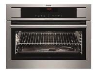 AEG KP8404001M Pyrolytic Single Oven