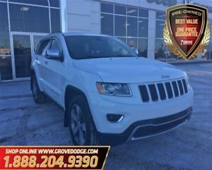 2014 Jeep Grand Cherokee Limited| Sunroof| Leather| 4X4| CD play