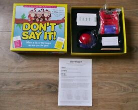 Don't Say It Family Childrens Fast and Fun Word Vocabulary Card Game 4 Levels of Difficulty