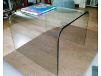 High Quality Pure Glass Arc Lamp/Side/ Coffee Table
