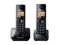 PANASONIC KX-TG2722 TWIN CORDLESS PHONE in original boox