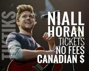 Niall Horan Tickets Sept 5th in Toronto! Canadian $, cheaper than Ticketmaster, no fees, 100% guaranteed!