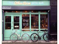 Craft beer bartender - Full time / Part Time - Bermondsey (SE1)