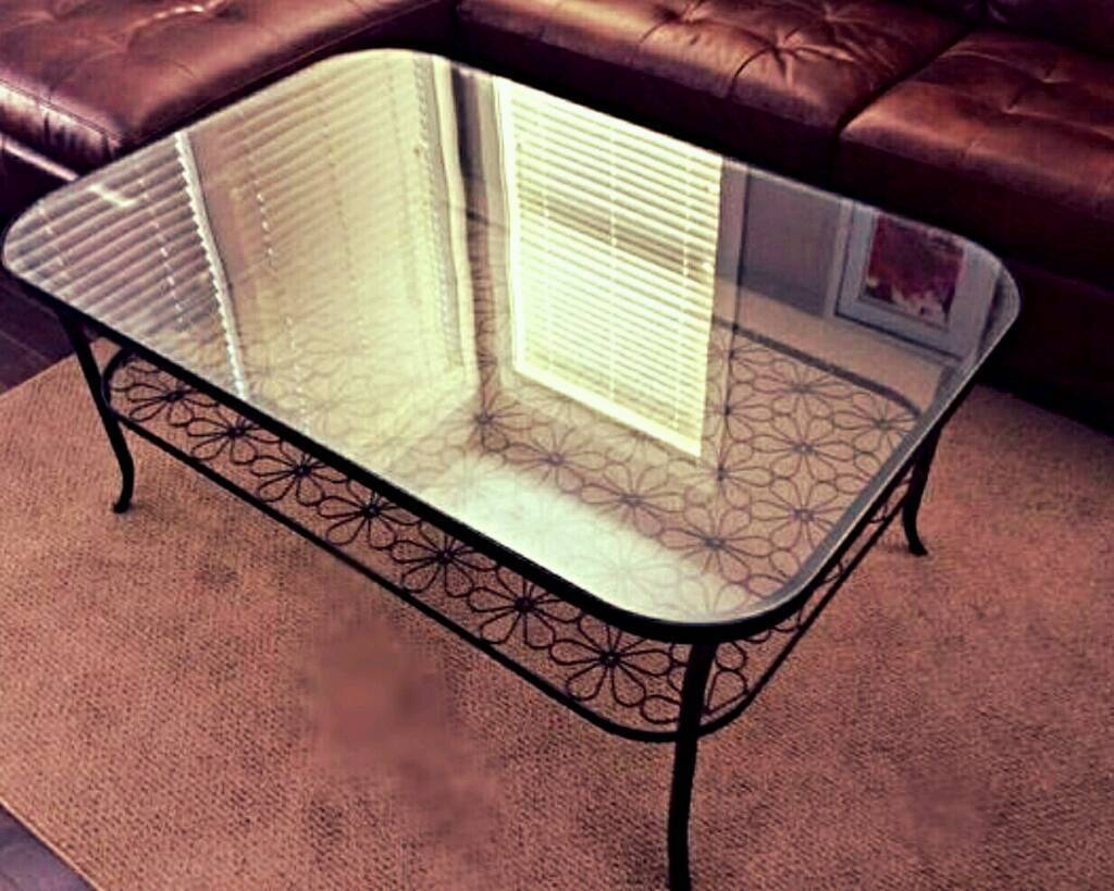 Reduced****Tempered Glass coffee table
