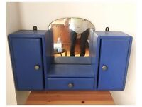 Cute blue dressing table