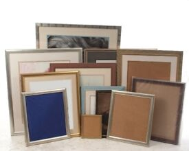 "Frames Assorted sizes from 10"" x8 "" to 30"" x 40"" over 25 in Total (not all shown in pictures)"