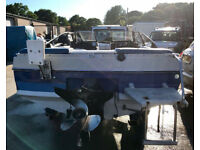Bayliner Capri Bow Rider 2.3 Litre OMC Inboard SPEED BOAT & Trailer Ready To Use