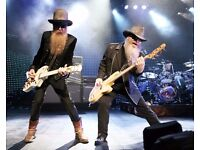 2x - ZZ Top Tickets 25th July - Manchester Apollo