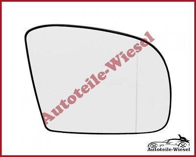 View Max Spiegelglas Rechts Chrom Heizb. für Mercedes ML-Klasse W164
