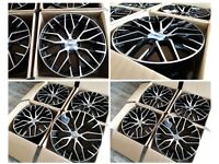 "HT120* NEW 19"" 20"" 21"" INCH ALLOY WHEELS ALLOYS FITS AUDI A3 A4 A5 R8 A6 A7 A8 S3 S4 S5 S6 S7 TT"