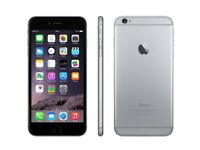 APPLE IPHONE 6 PLUS IN VERY GOOD CONDITION NO SCRATCHES** UNLOCKED TO ALL NETWORKS**