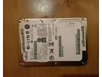 120gb SATA hard drive