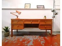 G Plan Vintage Danish Design Mid Century Medium Teak Retro Dressing Table Desk 380