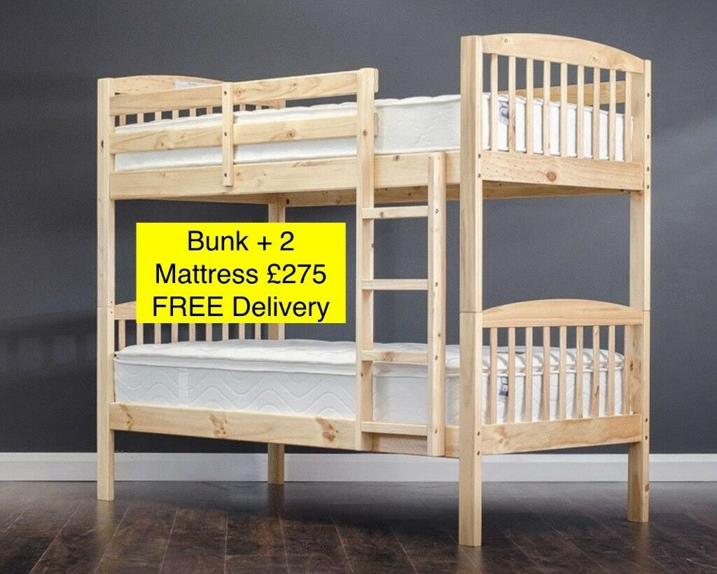 Bunk Beds With 2 Mattress Free Delivery In Belfast City Centre Belfast Gumtree