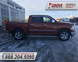 2013 Ram 1500 SLT w/ Cloth Seats, Touch Screen, 4X4, Edmonton Edmonton Area image 2