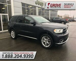 2016 Dodge Durango Limited w/ Rear DVD Player, Leather Seats, AW