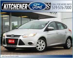 2014 Ford Focus SE CPO/WINTER PKG/HTD SEATS/ONLY 43k KM'S