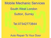 Qualified Mobile Mechanic: Sutton, Mitcham, Cheam, Morden, Epsom, Croydon