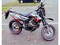 Lexmoto adrenaline 125 super moto