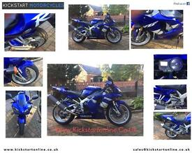 1999 Yamaha Yzf r1-1000 blue motd may 2017 good clean bike £1999