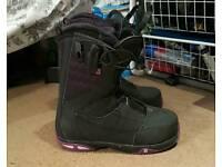 Salomon ivy ladies snowboard boots