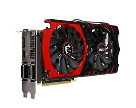 MSI GTX 970 - Parts only