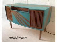 Vintage retro record cabinet,vintage record player,retro vintage record cabinet