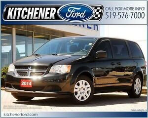 2014 Dodge Grand Caravan SE/SXT FWD/PWR LOCKS&WINDOWS/80K/GRE...