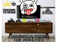 KING I P T V TOP QUALITY SERVICE £10 A MONTH!