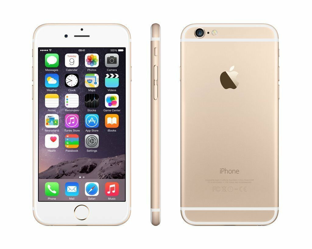 Apple iPhone 6 - FACTORY UNLOCKED - 16GB Smartphone - Refurbished! AT&T T-Mobile