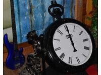 """27"""" Outdoor/indoor Station Clock. Pub, Garden, Shop Front, Restaurant"""