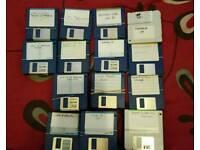 Commodore amiga 500 discs