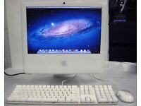 17' Apple iMac White 2Ghz 2Gb Ram 160GB Logic Pro 9 Waves GarageBand Adobe CS6 Microsoft Office 2011