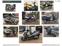 Honda fes 125s/wing 2008 good clean scooter full mot £1150