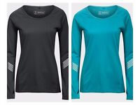 Active Intent Ladies Sports Running Warm Cycling Top long sleeve Base Layer XXL