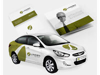 MINIMALISTIC & CLEAN LOGO DESIGN | AGENCY LEVEL | BRANDING | STATIONERY PACK | BUSINESS CARD