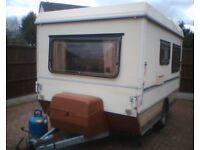 fold up caravan