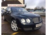 BENTLEY CONTINENTAL FLYING SPUR 6.0 FLYING SPUR 5 SEATS 4d AUTO 550 BHP SUNROOF (blue) 2005