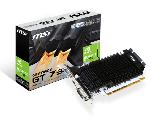 MSI GeForce GT 730 2GB Graphics Card