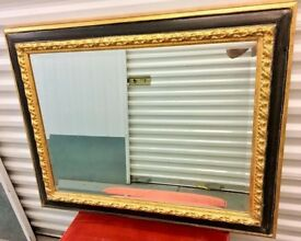GORGEOUS REGAL LOOKING LARGE STURDY MIRROR - £100 ONO